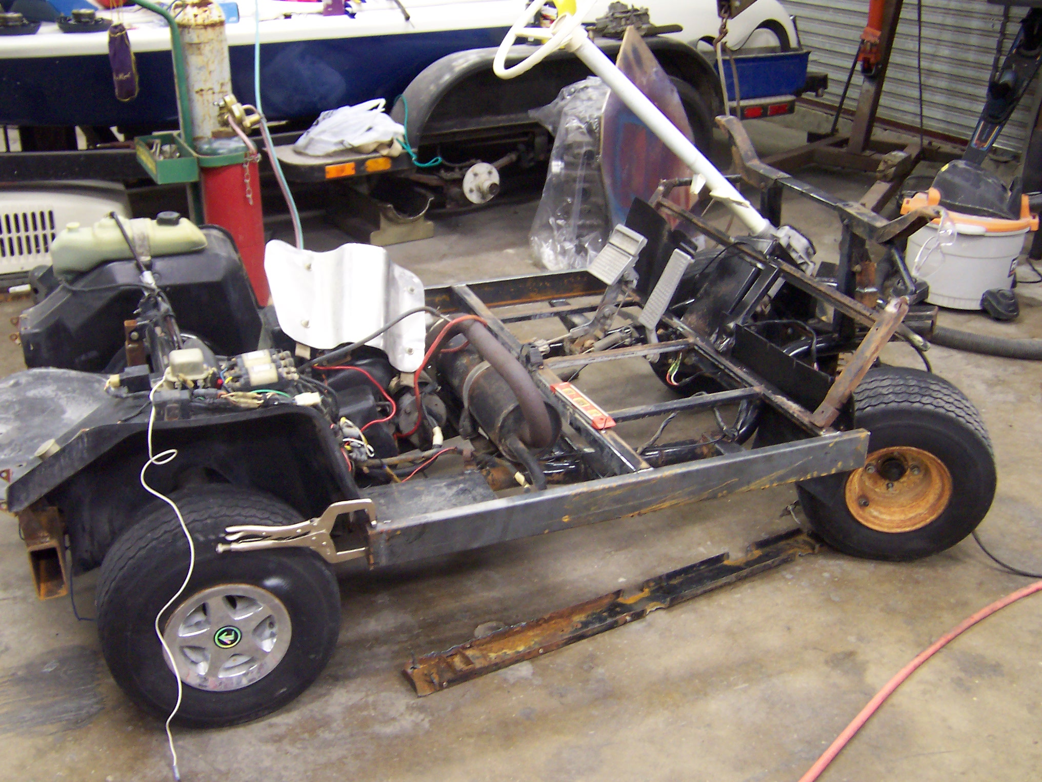 ... Homemade Dump Trailer Plans together with Homemade Flat Trailer Plans